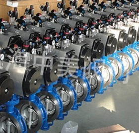 The general manager of Jiangsu company chose Gaocheng for high quality pneumatic butterfly valve