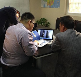 Wuxi Boli Company chooses Gaocheng Pneumatic Butterfly Valve