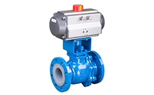 About the installation and operation of pneumatic valves