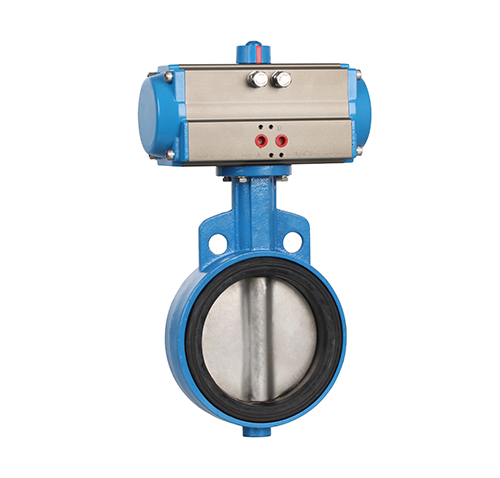 Wafer type soft seal pneumatic butterfly valve ZMAD71X