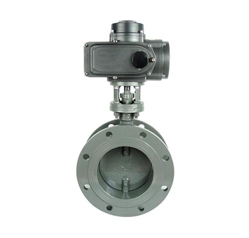 TD941W flange ventilation electric butterfly valve