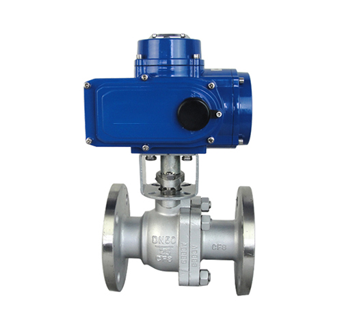Q941F stainless steel flange electric ball valve