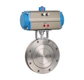High vacuum pneumatic butterfly valve ZMAZKD71X