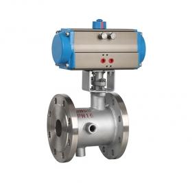 BQ641F pneumatic insulation ball valve