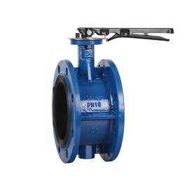 D41X manual flange butterfly valve