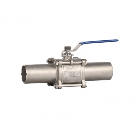 Welded extended ball valve ZMQ61F